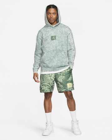 Jordan Flight Men's Printed Poolside Shorts - Мужские Купальные Шорты - 5